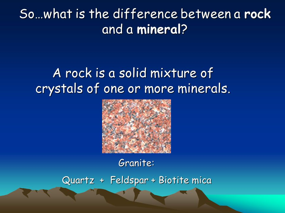 The Rock Cycle Ppt Download