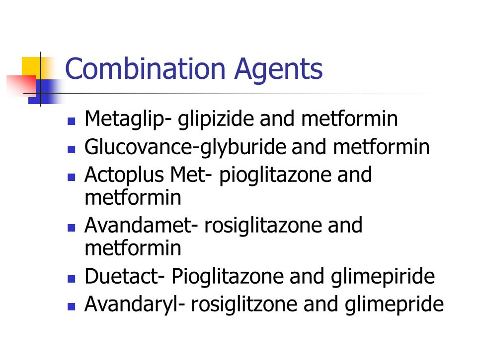 Glipizide And Metformin Combination Dosage
