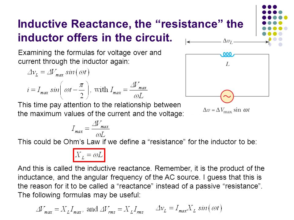 what is the relationship between inductor and winding resistance