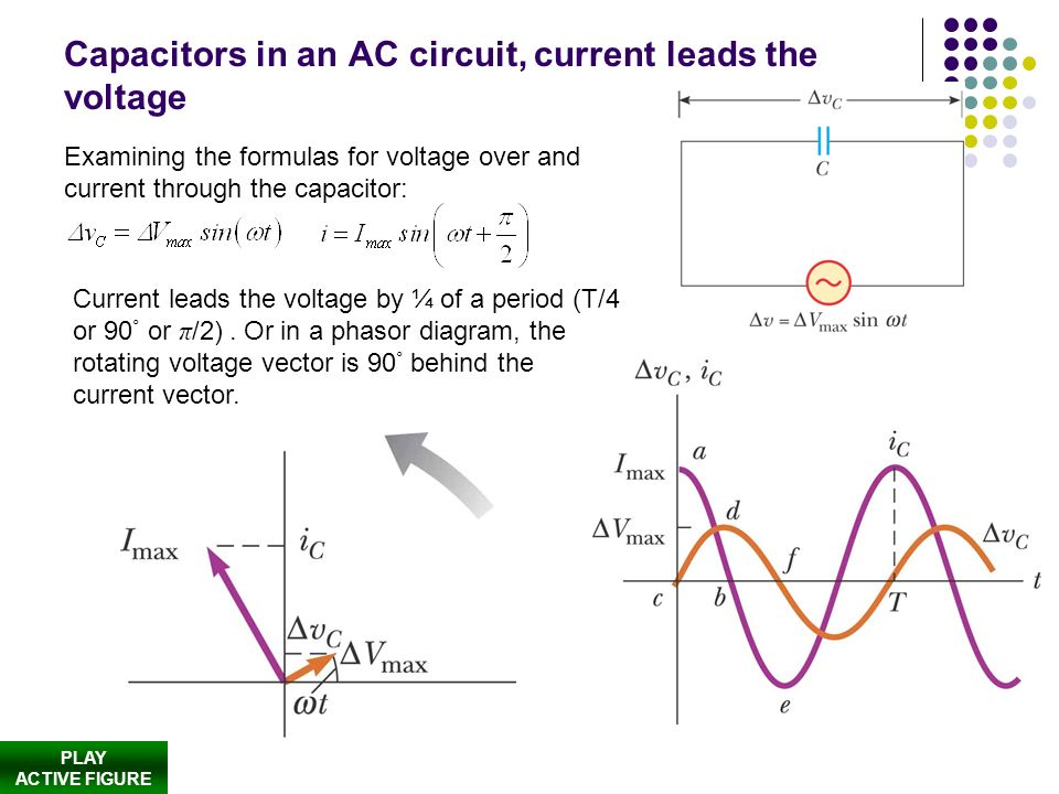 ac current and capacitance relationship