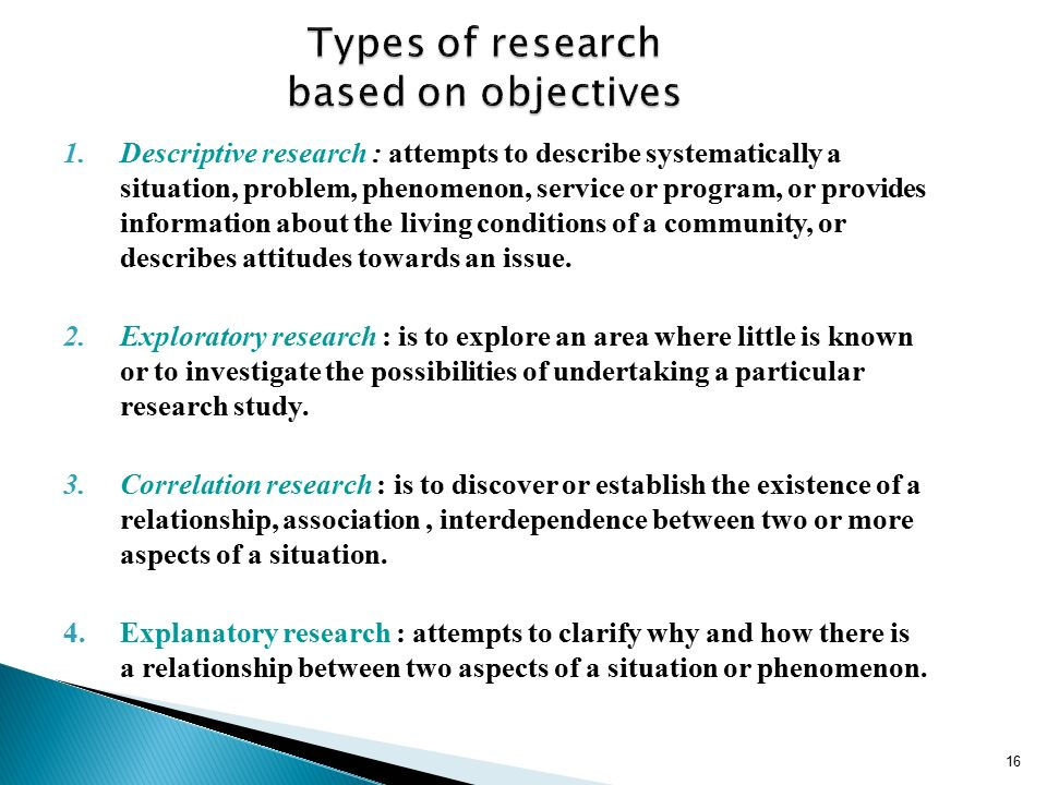 Types of Exploratory Research Design