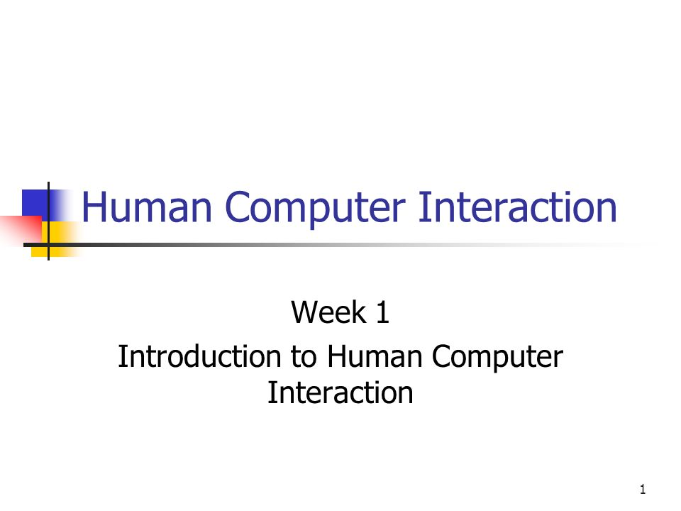 introduction to human computer interaction pdf