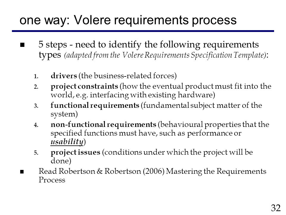 Volere requirements specification template cs2003 usability volere requirements specification template cs2003 usability engineering ppt download flashek Gallery
