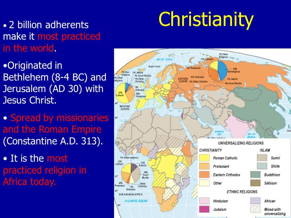 Chapter Religion Ppt Video Online Download - Most practiced religion in the world