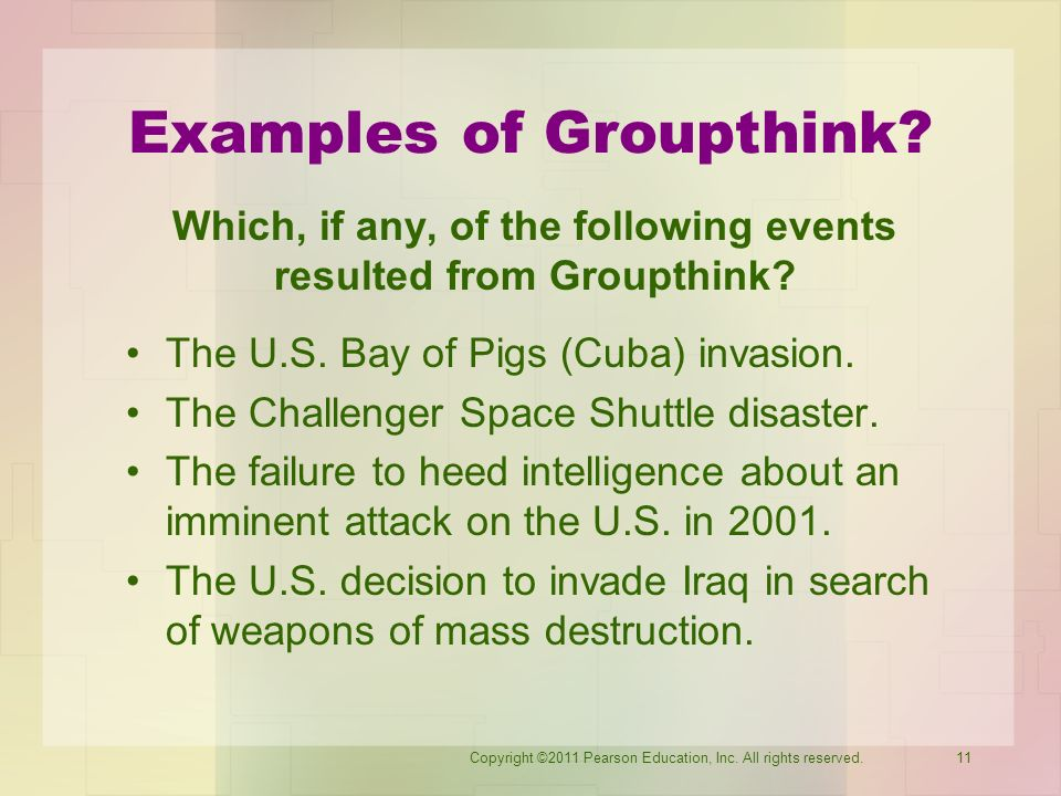 groupthink space shuttle and group member Why groupthink is the ultimate killer of creativity at the office  the author relates the story of the challenger space shuttle  group members should routinely.