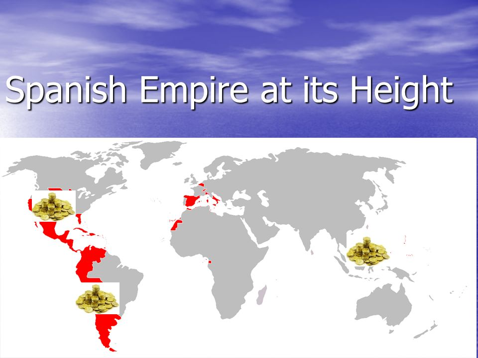 spanish empire The spanish empire (imperio español) was one of the largest empires in human history it reached the peak of its military, political and economic power under the spanish habsburgs, through most of the 16th and 17th centuries, and its greatest territorial extent under the house of bourbon in the.