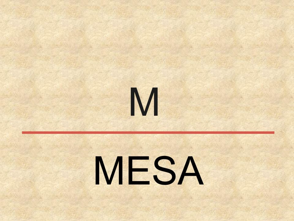M MESA
