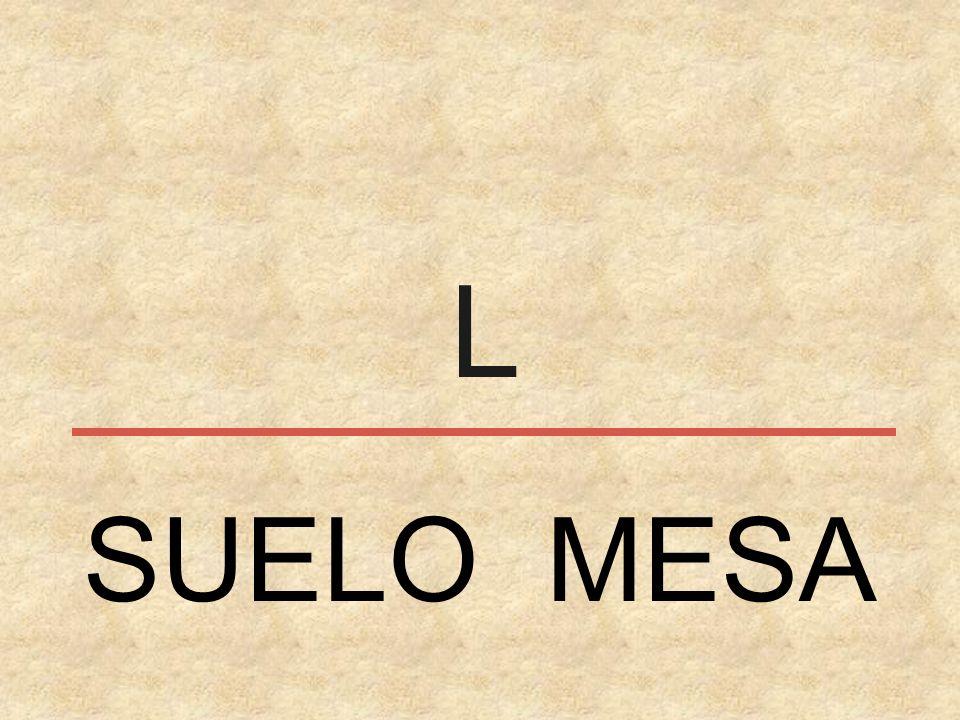 L SUELO MESA