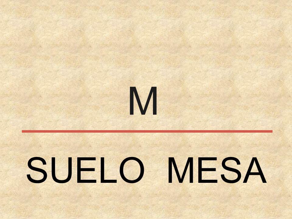 M SUELO MESA