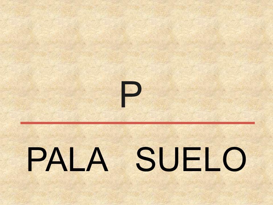 P PALA SUELO