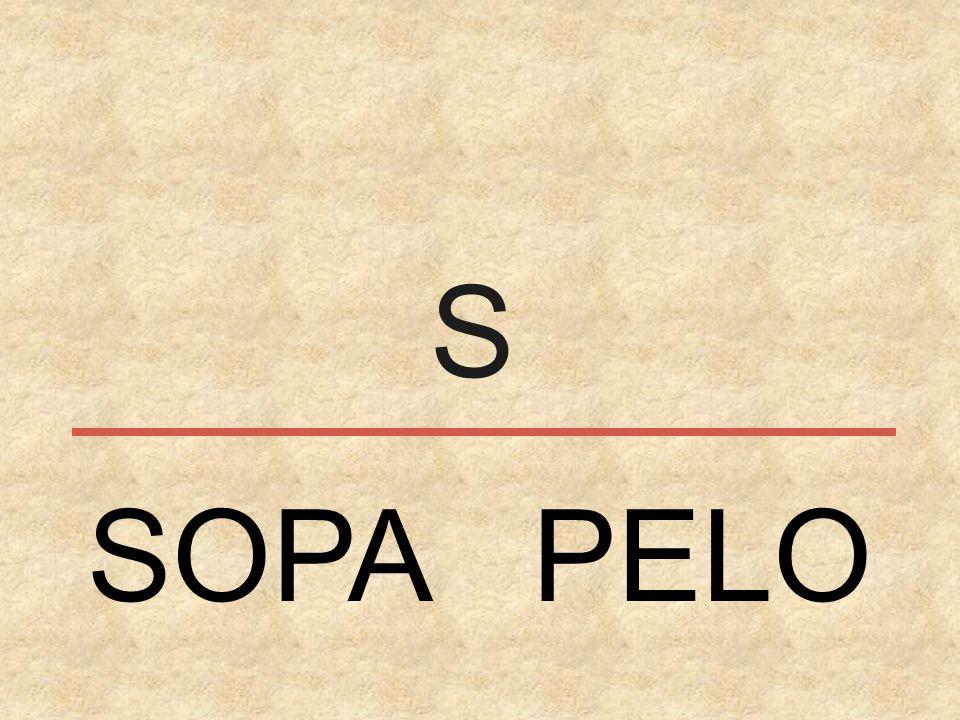 S SOPA PELO