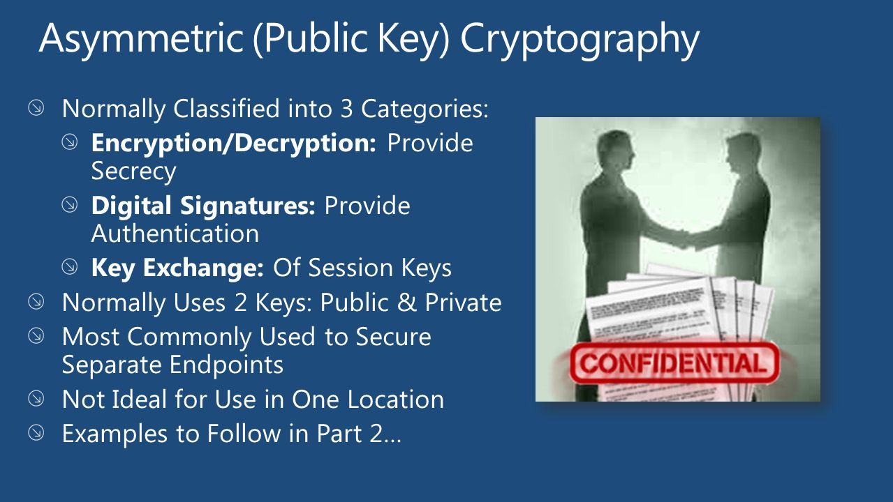 asymmetric cryptography what does a digital In practice for the digital age, the encryption process requires complex mathematics, secure technologies, and proven techniques - two are explored here.