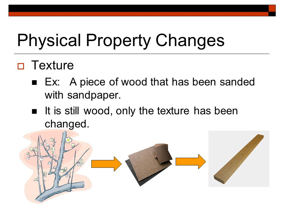 Physical Property And Physical Changes