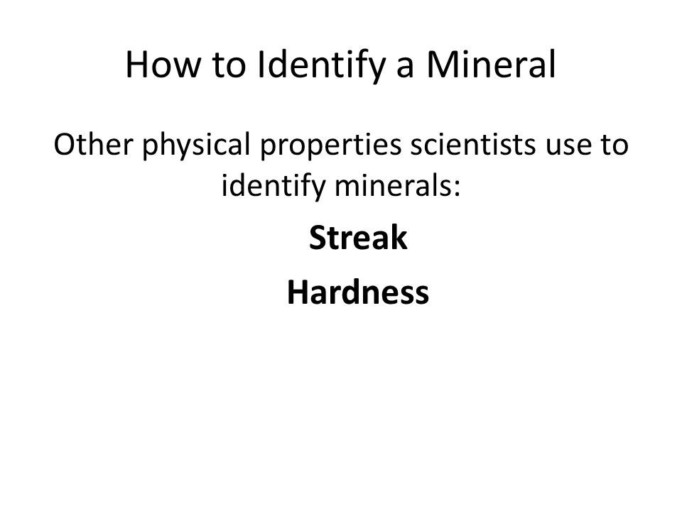 Minerals and Rocks Unit ppt download – Identifying Minerals Worksheet