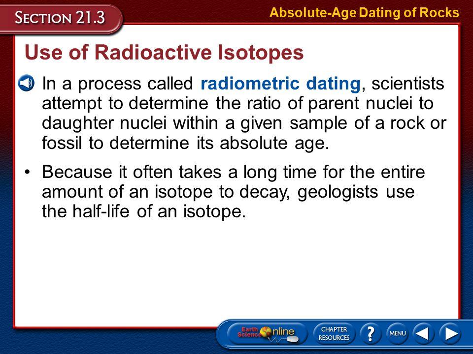 Radiometric dating xml