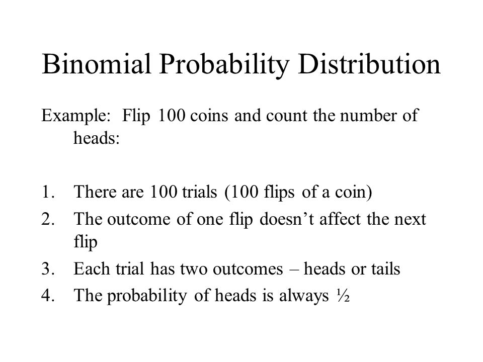 Binomial Probability Distribution ppt download – Binomial Probability Worksheet