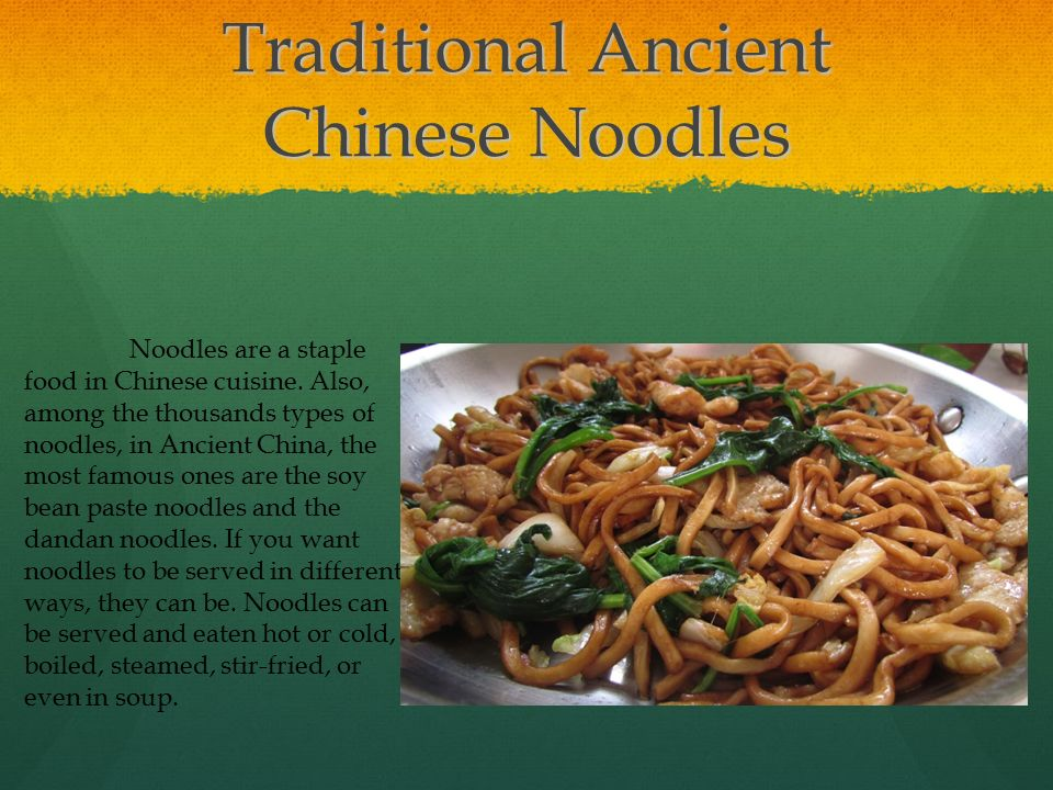 Ancient chinese food by matthew linsky ppt video online for Ancient chinese cuisine