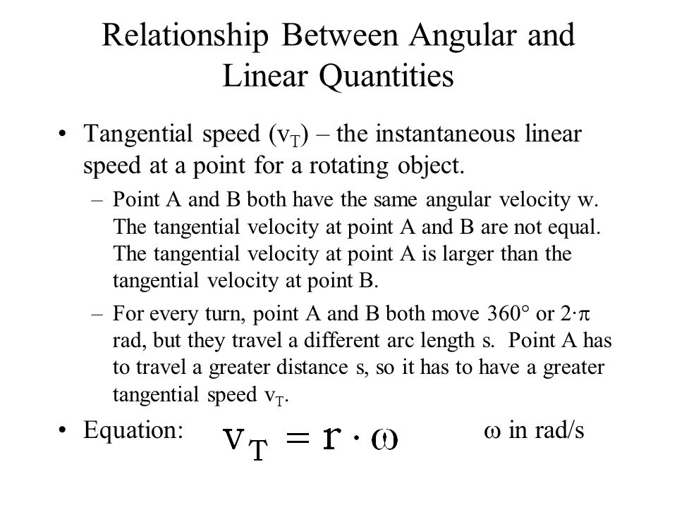 relationship between tangential velocity and centripetal acceleration