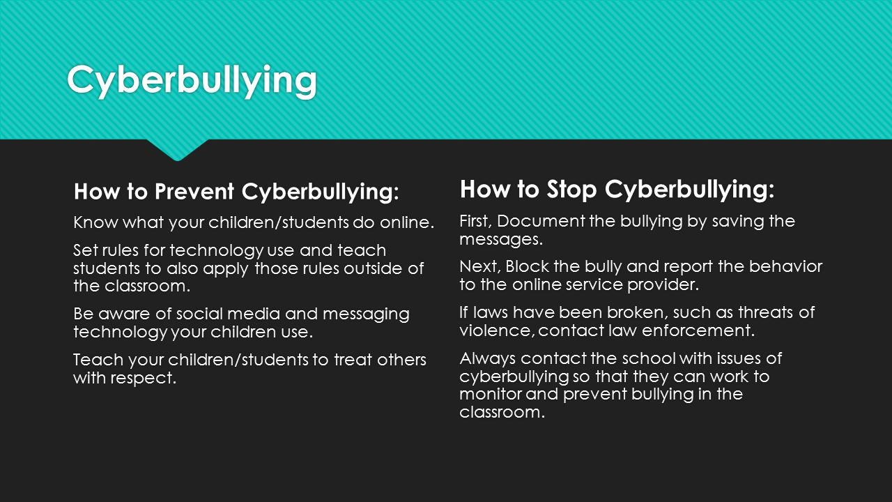 """cyber bullying creating a culture of respect """"we all deserve respect online – cyberbullying is not ok""""   however, many people, both young and old, are making conscious."""