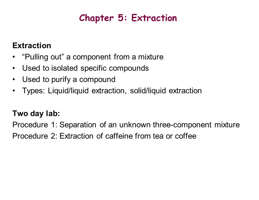separation of acid base and neutral compounds from a solid mixture by liquid liquid extraction Separation of naphthalene and benzoic acid by  separation by extraction of benzoic acid and 4  extraction of benzene from a mixture of benzoic.