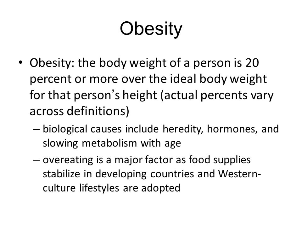 obesity in western culture Culture lifestyle show more western lifestyles fuel growing obesity epidemic the study looks at nigeria and finds that western influences on diet and.