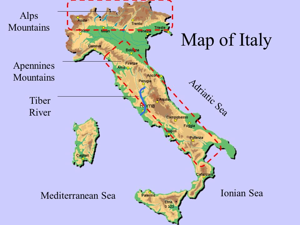 The Geography of Ancient Rome  ppt video online download