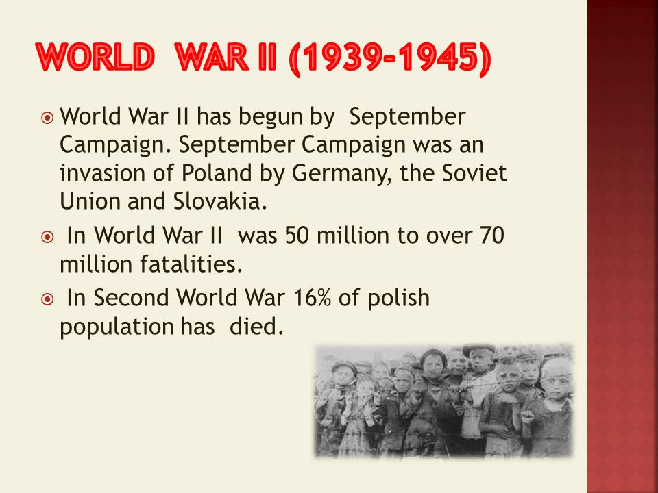 World war ii ( )