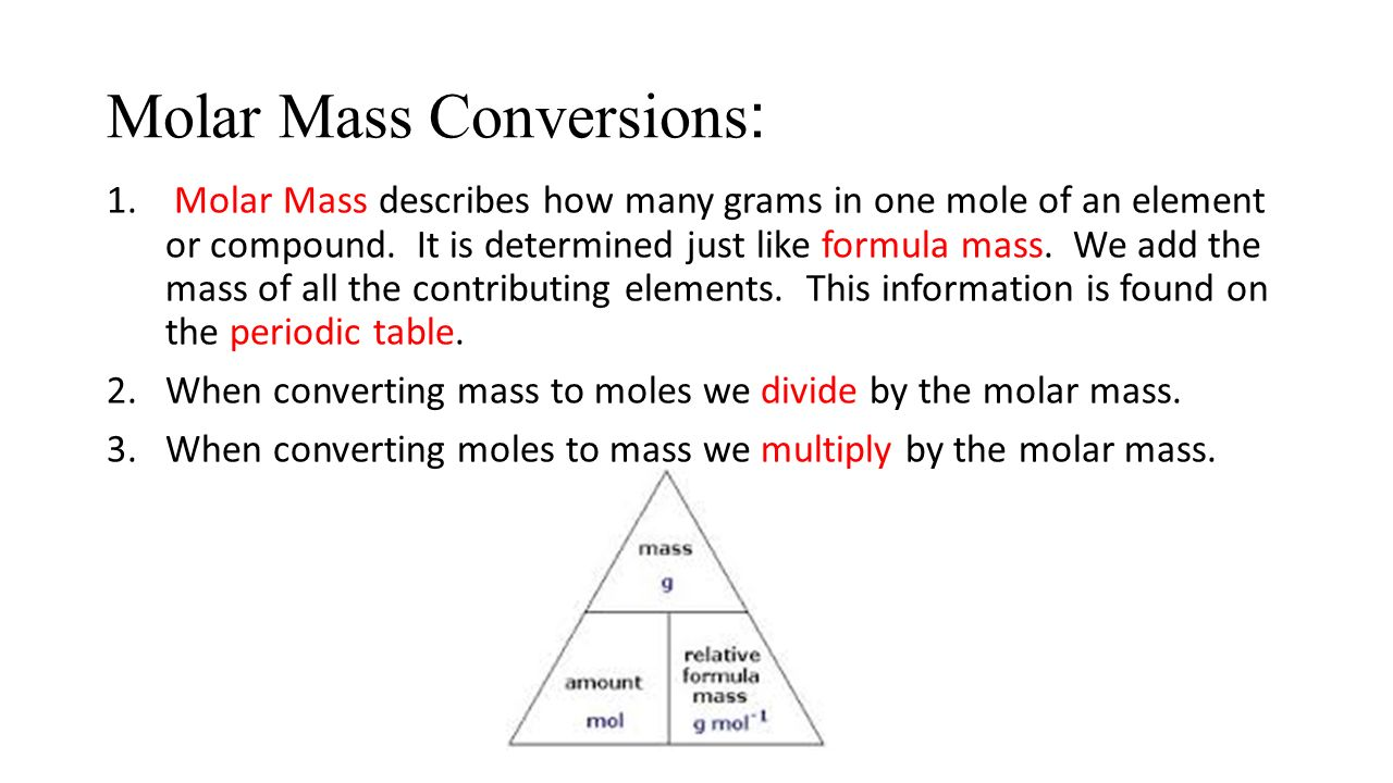 Pictures Of Molar Mass Conversion Chart Kidskunstfo