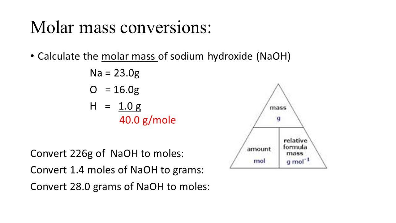 Unit Ten Introducing the Mole ppt download – Moles Conversion Worksheet
