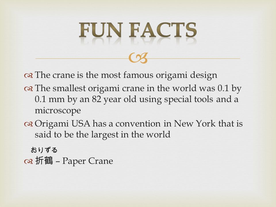 origami crane facts origami tutorial lets make it
