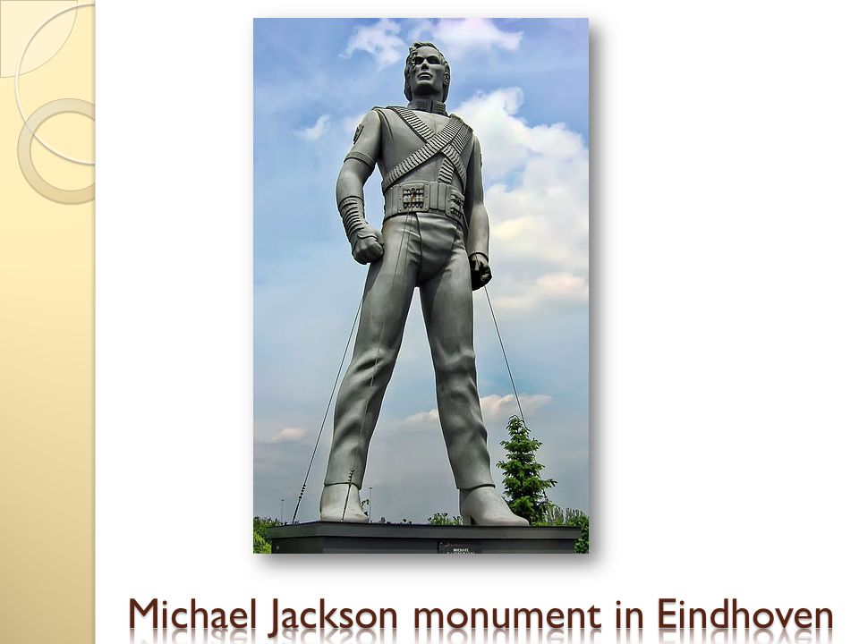 Michael Jackson monument in Eindhoven