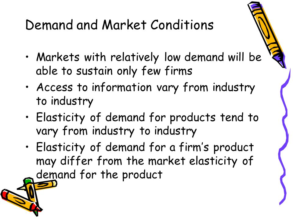 demand condition Table 1: demand conditions market size and growth market growth is due to high per capita consumption, increasing population and health consciousness.