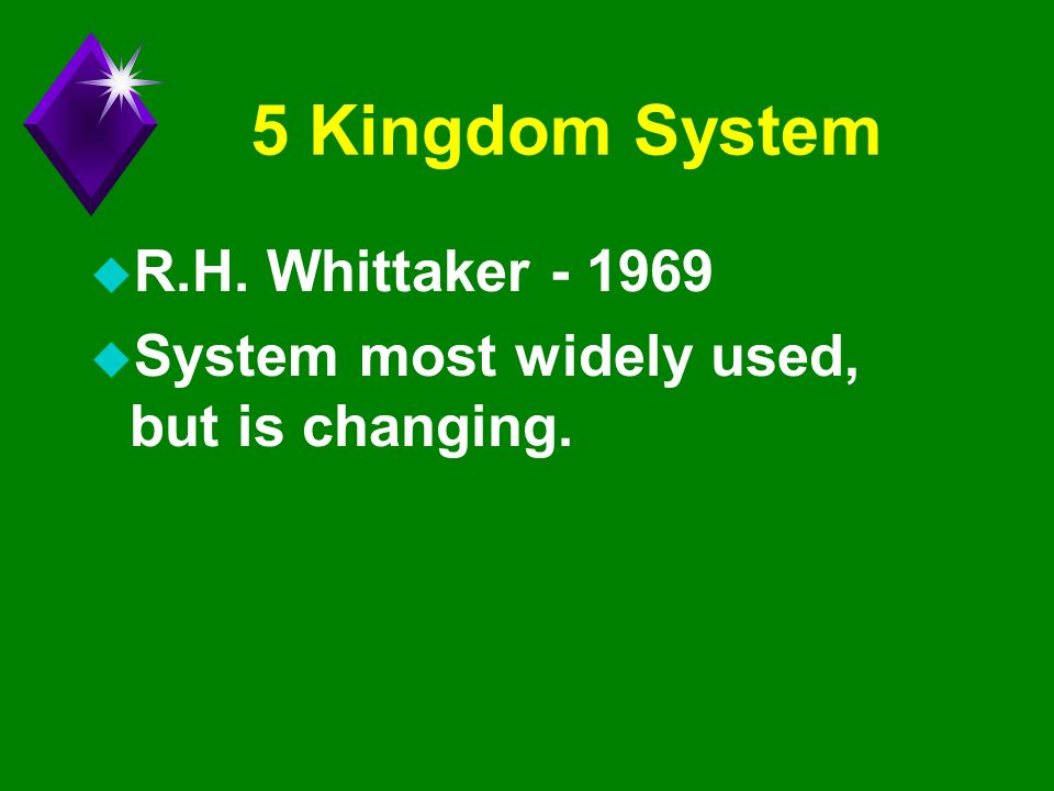 an analysis of the five primary kingdoms classification by r h whittaker Career, robert h whittaker helped to rev olutionize  analysis, whittaker  succeeded in trans  made major empirical and methodological  lelochemistry,  classification  with a four- and later five-kingdom pro posal.