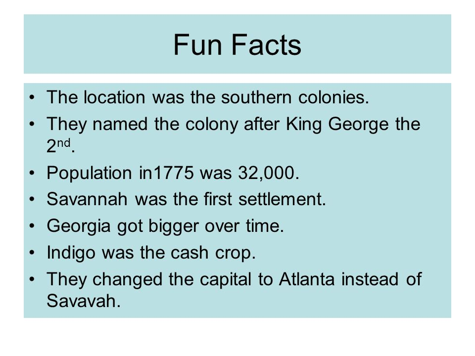 Jeff, and Alex Georgia Colony. - ppt download