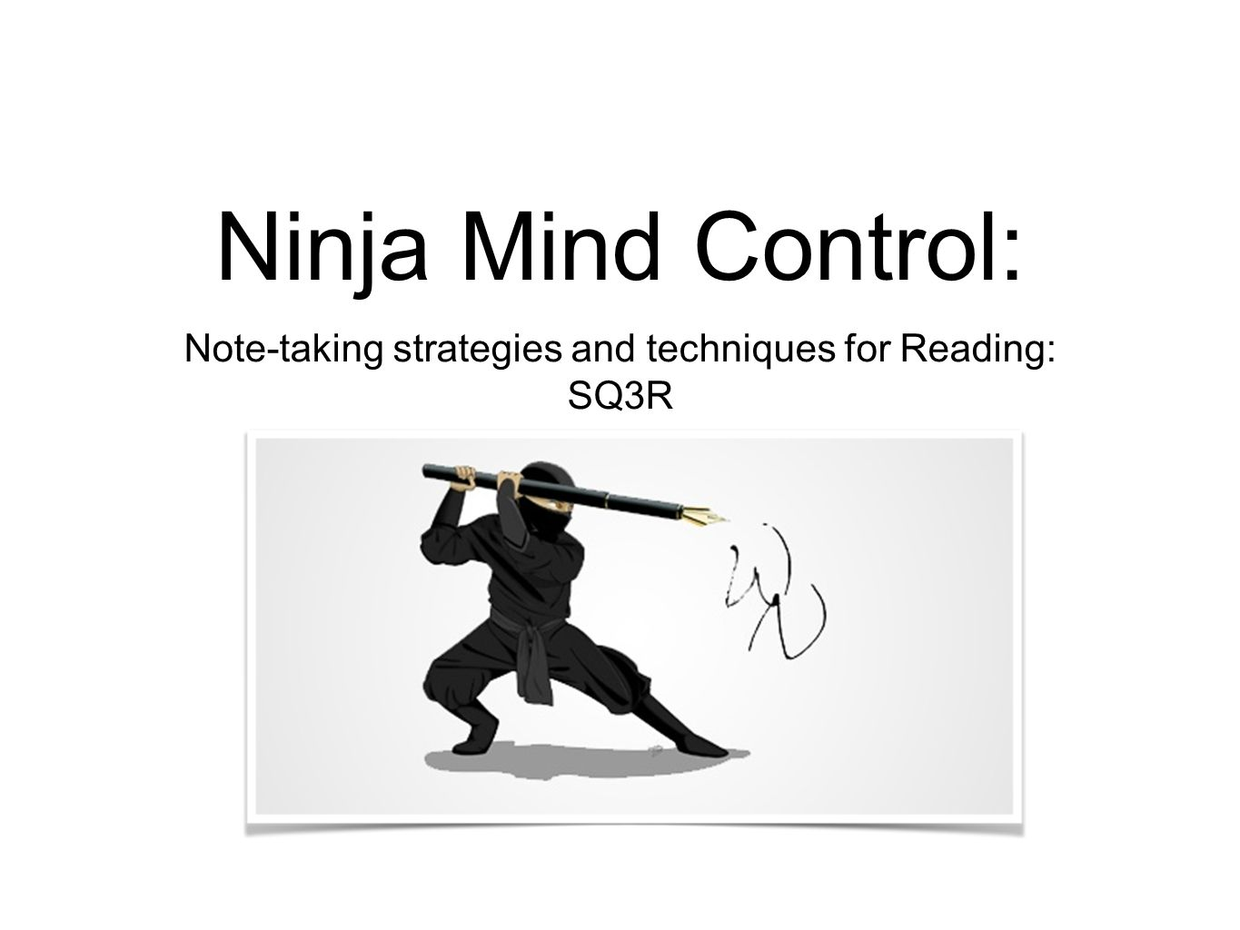 Mind control techniques - Note Taking Strategies And Techniques For Reading