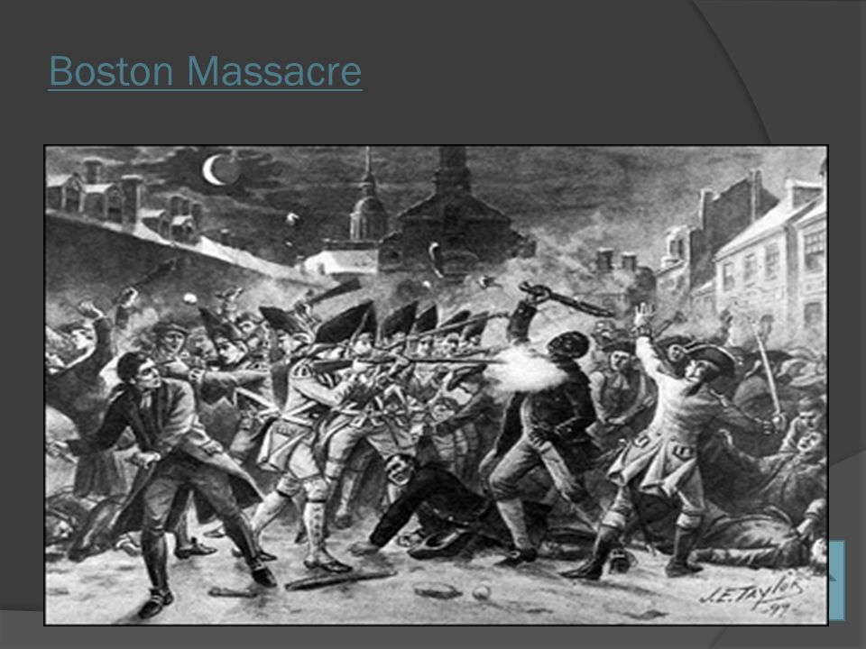 causes of the boston massacre Boston massacre essays: over  boston massacre boston massacre boston massacre the boston consulting  out the different causes that led up to the.