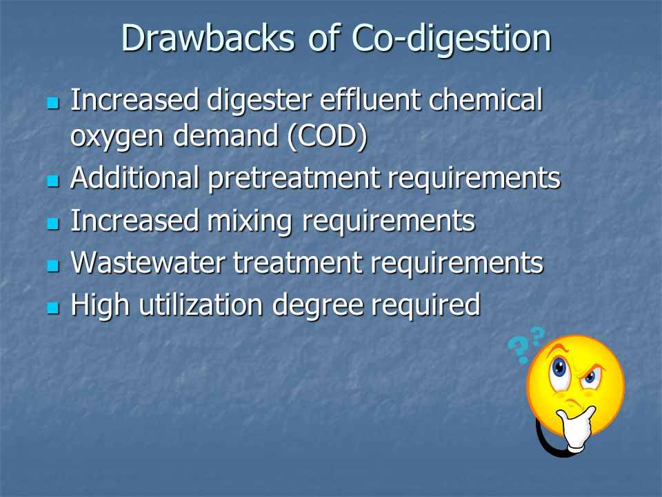 co digestion of biomass for methane production Iii abstract anaerobic co-digestion of algal biomass and a supplemental carbon source material to produce methane by yousef soboh, doctor of philosophy.