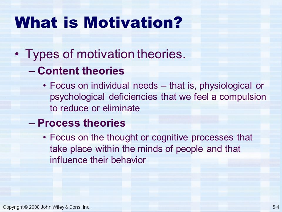 describe the five approaches to motivation 14 highly effective ways to motivate employees  these are the top results from a survey of entrepreneurs on the topic of employee motivation tips provided by the young entrepreneur council .