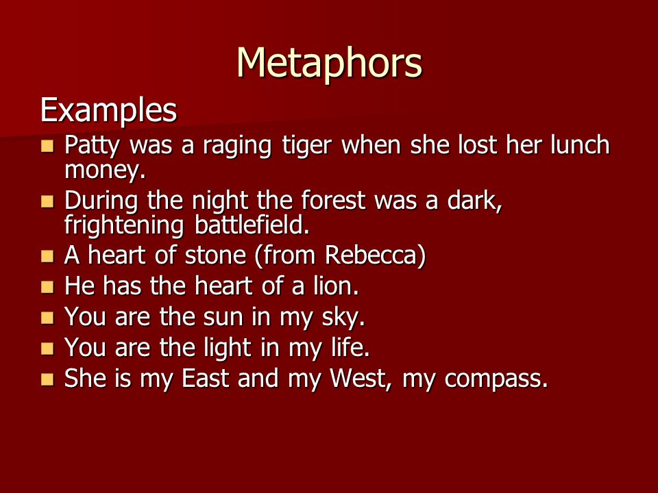 Which Metaphor Best Describes You?