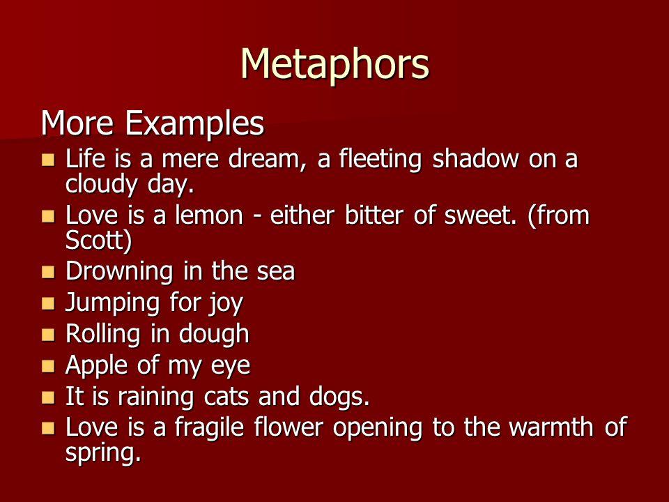 Metaphor Examples Categorized Knowgrammingcom 8162058 Chesslinksfo