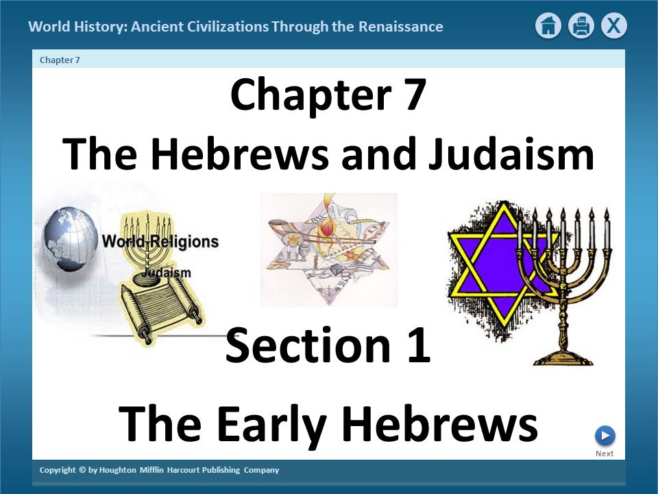Chapter 7 The Hebrews And Judaism Ppt Video Online Download