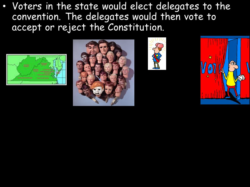 Voters in the state would elect delegates to the convention