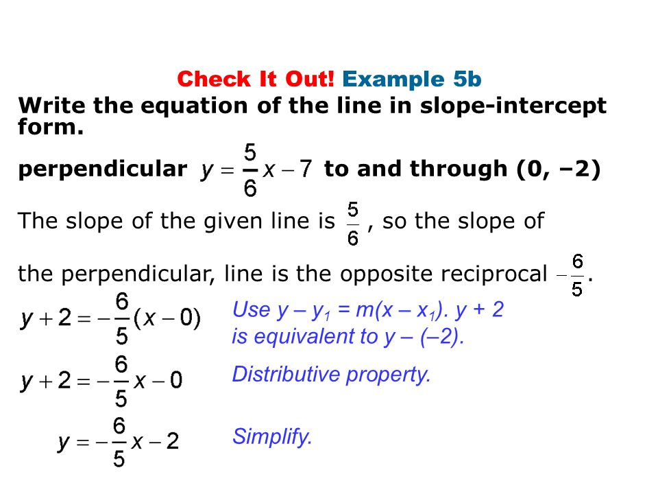 2.4 More About Linear Equations - ppt download