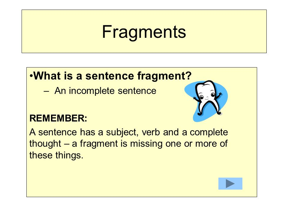 how to make a run on sentence