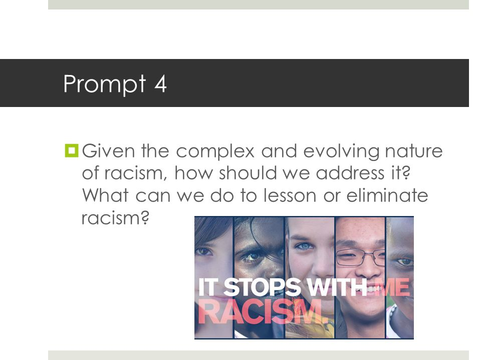 an introduction to the definition of racism Racism: the definition of racism that was taught to me, which i personally ascribe to and utilize, was constructed within a post civil rights us context and was developed by the dr.