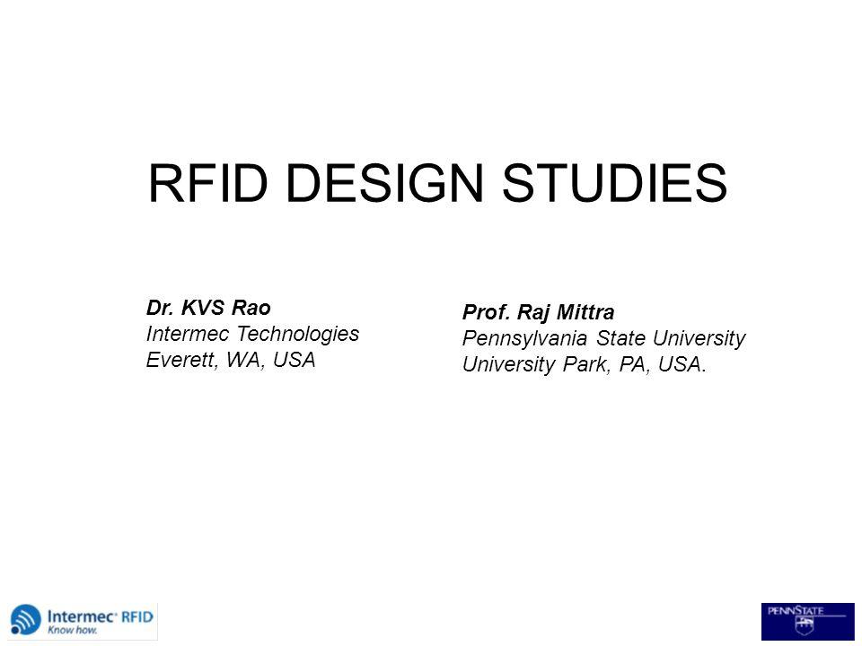Outstanding Rfid Design Studies Dr Kvs Rao Prof Raj Mittra Intermec Technologies Download Free Architecture Designs Oxytwazosbritishbridgeorg