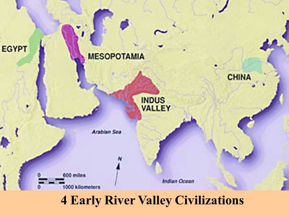 indus valley with the civilizations in mesopotamia and egypt It's floods replenished the soil in ancient egypt, thus ensuring the continuation of  the civilization the tigris and euphrates rivers of mesopotamia also flooded,.