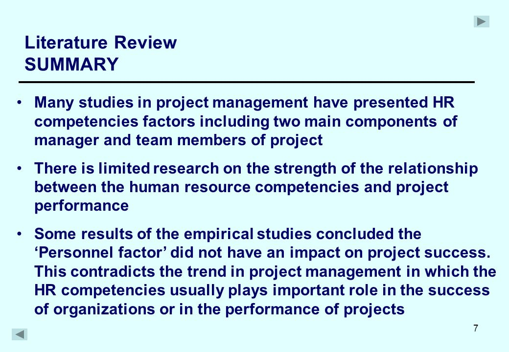 literature review human resource management The objective of this review is to analyze the contribution of human resource management (hrm) in creating good governance in the organizations a theoretical framework concerning the characteristics of good governance and the contribution of human resource management based on those characteristics were.