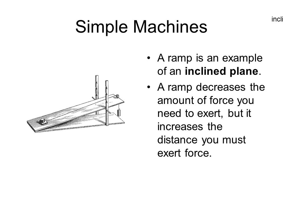 a study of the characteristics of the inclined plane Get study help fast search through millions of guided step-by-step solutions or ask for help from our community of subject experts 24/7 try chegg study today.