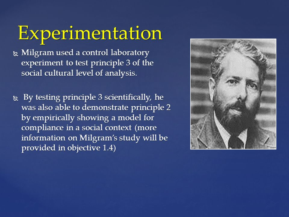 critique of stanley milgrams behavioral study of It's one of the most well-known psychology experiments in history – the 1961 tests in which social psychologist stanley milgram invited volunteers to take part in a study about memory and.